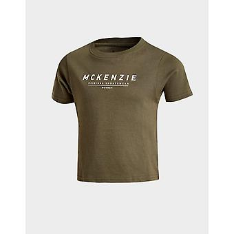 New McKenzie Kids' Mini Essential Large Logo T-Shirt from JD Outlet Green