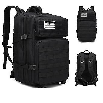 Military Molle Backpack, Tactical Army Men Travel Waterproof Rucksack Tourist