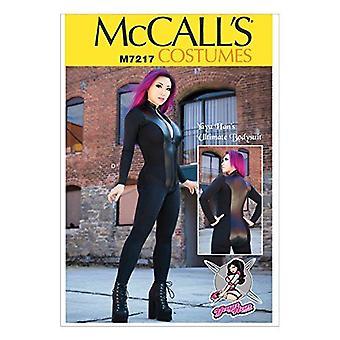 McCalls Naaipatronen 7217 Misses Zippered Bodysuit Yaya Han Maat 14-22 Uncut