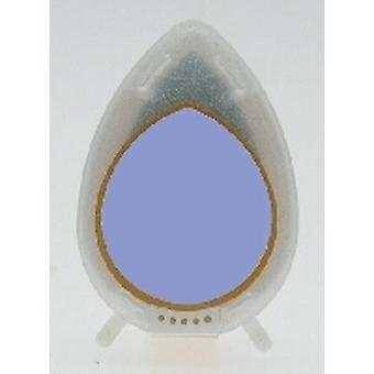 Almohadilla de tinta brillante caída de rocío - almohadilla de tinta de lavanda perla