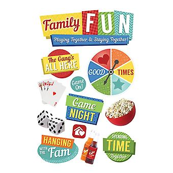 Paper House Productions - 3D Stickers - Family Fun