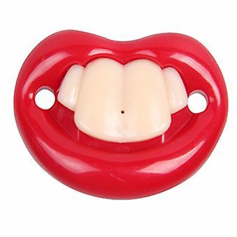 Vauvan luova silikonitautin, hampaan muotoinen tutti