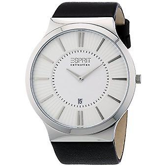ESPRIT Collection EL101381F01 - Men's wristwatch - leather - color: black