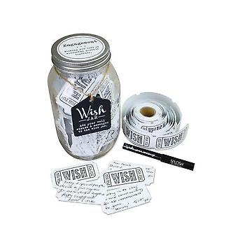 Splosh Engagement Wish Jar
