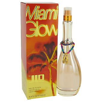 Miami Glow by Jennifer Lopez Eau De Toilette Spray 3.3 oz
