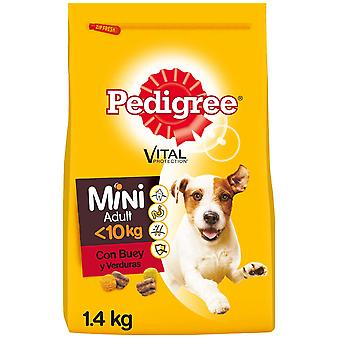 Pedigree Food for Adult Dogs Mini Flavor Beef and Vegetables (Dogs , Dog Food , Dry Food)