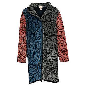 LOGO بواسطة لوري غولدشتاين المرأة و apos; ق معطف الصوف عكس الأزرق A387309