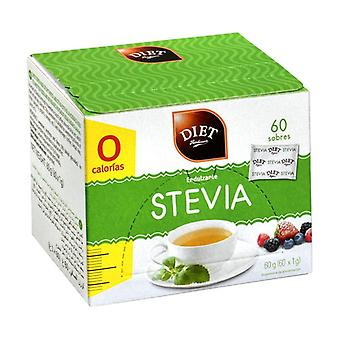 Stevia 60 packets of 1g