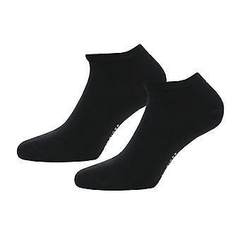 Menn Tommy Hilfiger 2 Pack Sneaker Sokker i svart