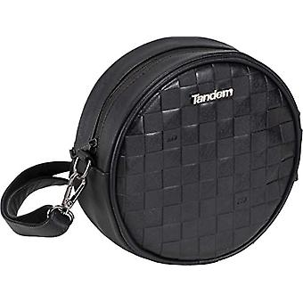 Sportandem Tandem Fashion - Round bag, for men, for adults, unisex, color: black, one size fits all