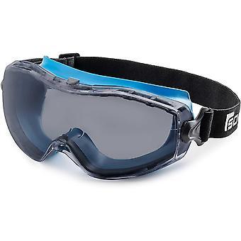 Solid. perfekt sitzende Schutzbrille   Staubdichte Arbeitsschutzbrille mit universeller Passform  