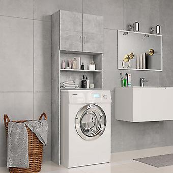 Waschmaschinenschrank 64X25,5X190 Cm Spanplatten BetonGrau