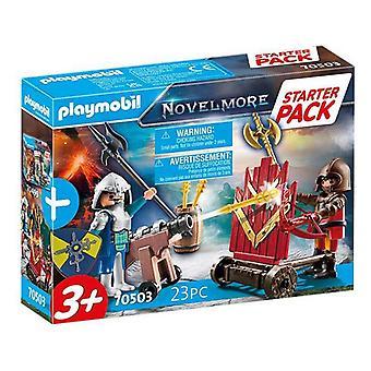 Playset Starter Pack Novelmore Playmobil 70503 (23 pcs)