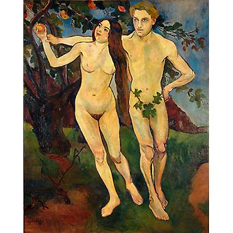 Adam And Eve,suzanne Valadon Art Reproduction.renaissance Style Modern Hd Art Print Poster,canvas Prints Wall Art For Office Home Decor Pictures