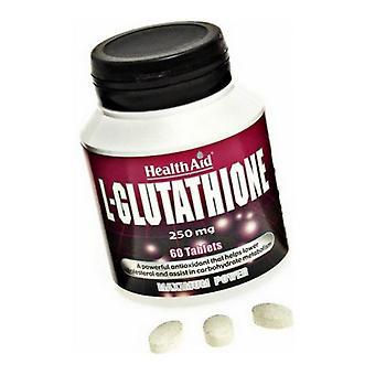 HealthAid L-Glutaatio 250 mg tabletit 60 (802080)