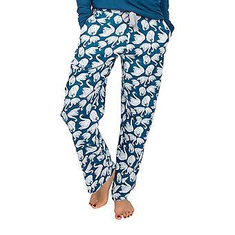 Cyberjammies Maria 4890 Femme Bleu Cygne Coton Pyjama Pantalon