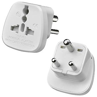 AMOS 3-Pin indiano / Pakistan Travel Plug