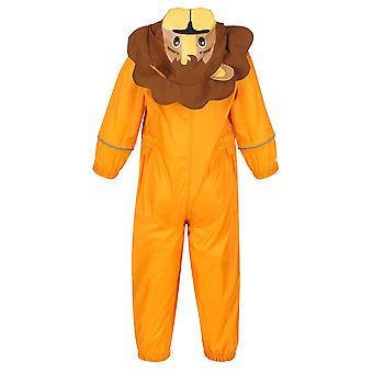 レガッタ子供/キッズシャルコライオン防水水たまりスーツ