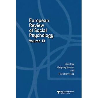 Revue européenne de psychologie sociale: Volume 13