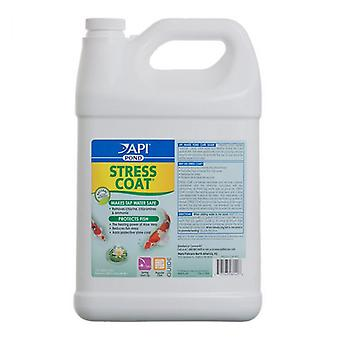 PondCare Stress Coat Plus Fish & Tap Water Conditioner for Ponds - 1 Gallon (Treats 15,360 Gallons)