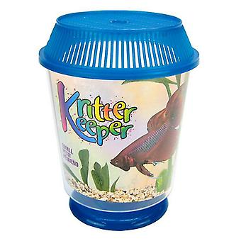 "Lees Round Kritter Keeper - Small - 4.5"" Diameter x 5.6"" High"