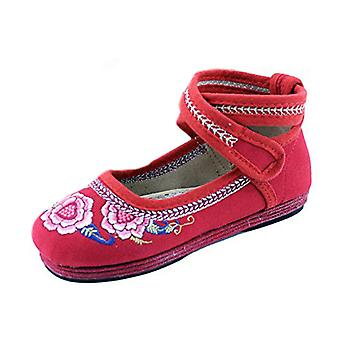 Old Beijing Embroidered Cloth Shoes Kid