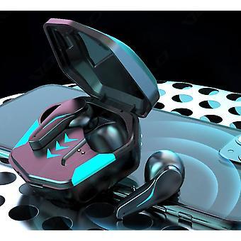 Gaming Headset Niedrige Latenz TWS Bluetooth 5.1 Kopfhörer Stereo Wireless Kopfhörer Touch Control