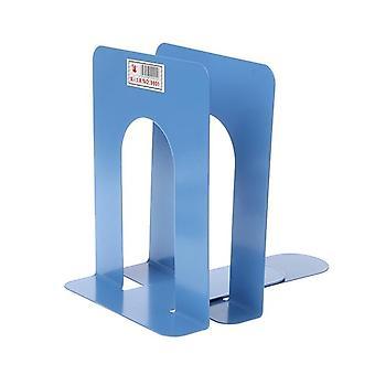 Simple Style Metal Bookends Iron Support Holder Nonskid Desk seisoo kirjoja varten| Kirjanen