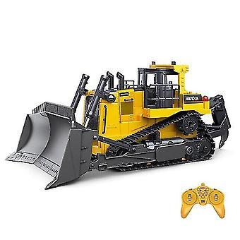 Remote control cars trucks 1:16 rc truck heavy bulldozer caterpillar engineering controlled car toys for boys|rc trucks khaki