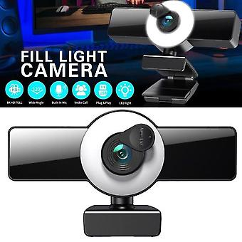 Laiqiankua 1080p Full Hd Usb webkamera med innebygd støyreduksjon mikrofon