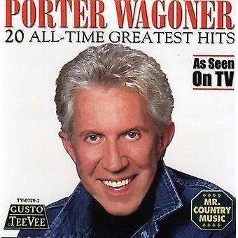 Porter Wagoner - 20 All Time Greatest Hits [CD] USA import