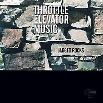 Throttle Elevator Music - Jagged Rocks [Vinyl] USA import