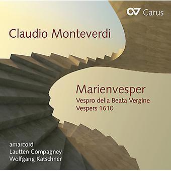Monteverdi / Amarcord / Katschner - Marienvesper [CD] USA import