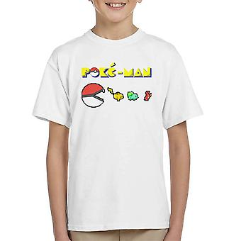 Pokemon Poke Man Kid's T-Shirt