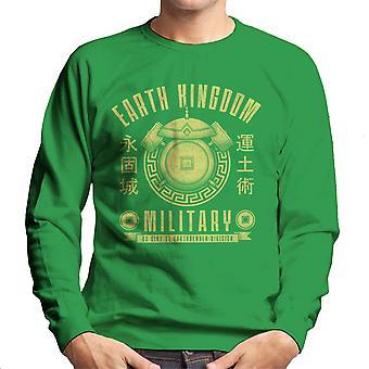 Earth Is Strong Avatar The Last Airbender Men's Sweatshirt