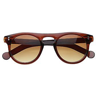 Vintage Frame épais Keyhole corne Rimmed lunettes 8309