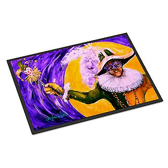 Carolines Treasures  MW1109MAT Mardi Gras Hey Mister Indoor or Outdoor Mat 18x27