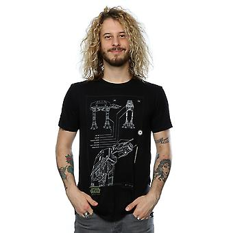 Star Wars Men's Rogue One AT-ACT T-Shirt