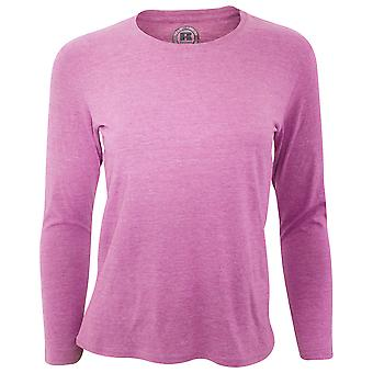 Russell Womens/dames lange mouw T-Shirt HD