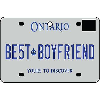 ONTARIO - Best kjæreste nummerskilt bil Air Freshener