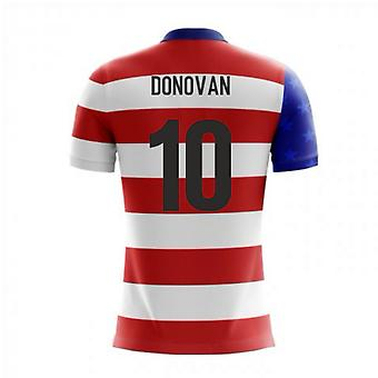 2020-2021 USA Airo Concept Home Shirt (Donovan 10)