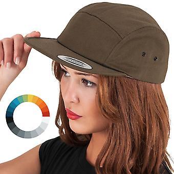Klassieke JOCKEY 5-Panel Cap unisex Snapback Cap