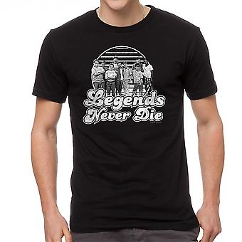 Sandlot Legends Men's Black T-shirt