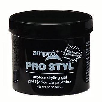 سوبر جل تصفيف ماط بروتين برو أمبرو عقد 32 أوقية
