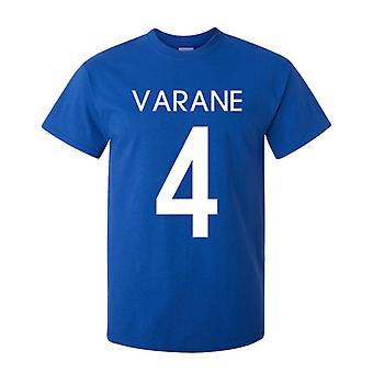 רפאל ורנה צרפת גיבור T-חולצת (כחול)