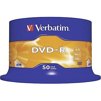 Verbatim 43548 lege DVD-R 4,7 GB 50 PC (s) spindel