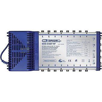 Spaun lumina SMS 51607 NF SAT multiswitch intrări (multiswitch-uri): 5 (4 SAT/1 terestru) nu. participanților: 16 modul standby