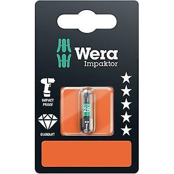 Wera 867/1 IMP DC SB SiS 05073925001 Torx بت T 25 أداة سبائك الصلب، DLC المغلفة D 6.3 1 pc(s)
