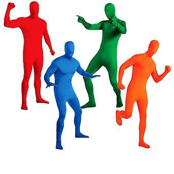 2. hud krops dragt anden hud kostume til voksne