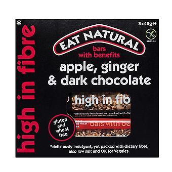 Eat Natural Apple, Ginger and Dark Chocolate Bars